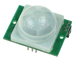 MOTION SENSOR USING PIR SENSOR MODULE WITH PIC MICROCONTROLLER AND WITHOUT MICROCONTROLLER
