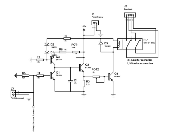 Guitar Delay Schematic