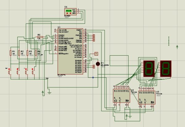 Refregirator Temperature Controller Project (Save Your Electricity Bill) Schematic