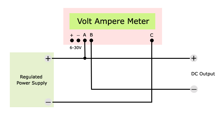 voltmeter ammeter wiring diagram