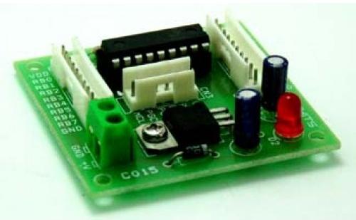 16F628A Microcontroller development board