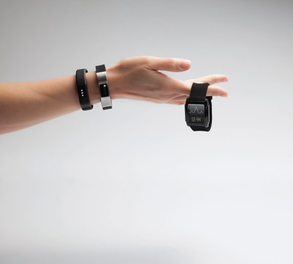 LEDs give wearables a high visibility
