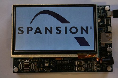 Spansion adds ARM microcontrollers for HMI