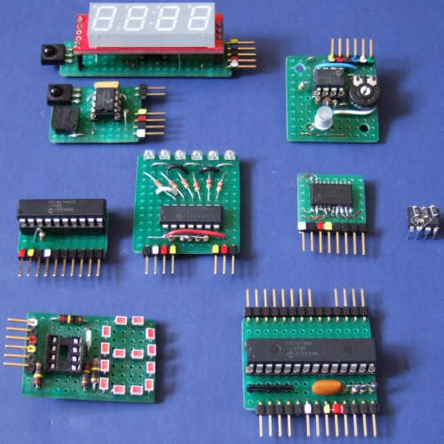Picaxe Projects 1 Making Fast Printed Circuit Modules