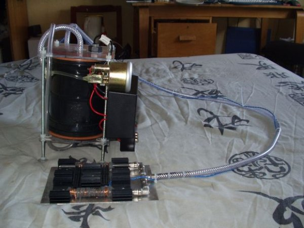 Gas Cooker & Water Purifier Using Free Energy