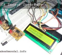 Interface single and Dual IR Infrared sensor with PIC18F4550 and LCD