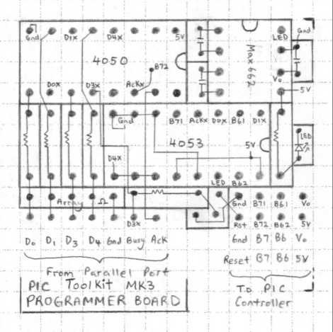 Introducing PIC Microcontroller projects schematich