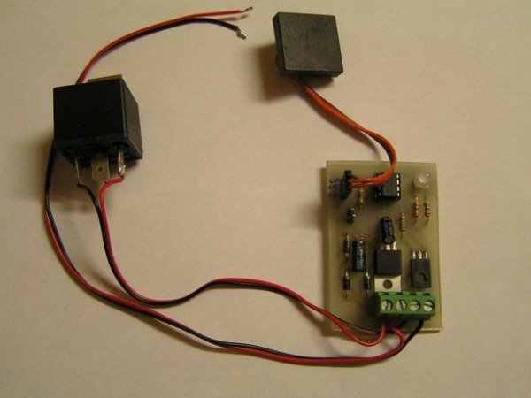 RFID Car immobiliser with PIC12629