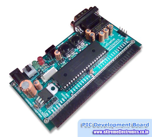 RS232 Communication using PIC18F4520's USART PIC Microcontroller Tutorial