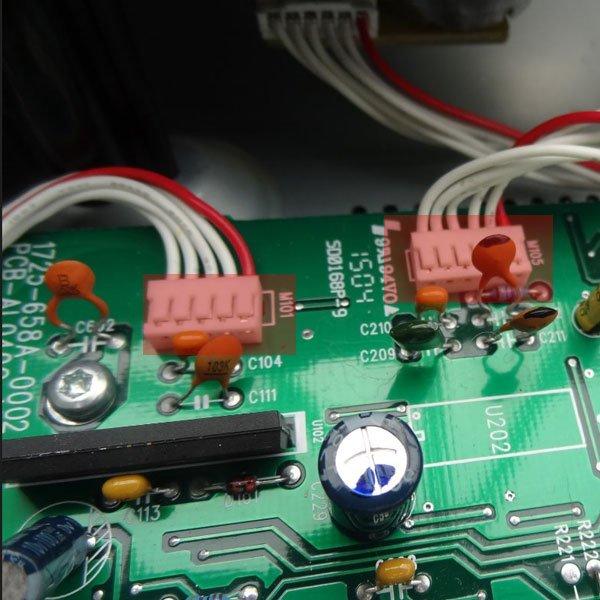 Repair of Arcam CD73 laser mechanism schematich