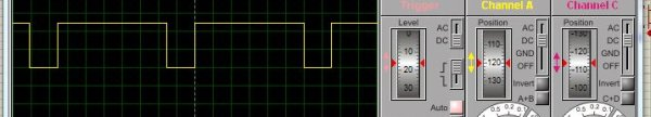Speed control of DC motor by PWM in Proteus simulation