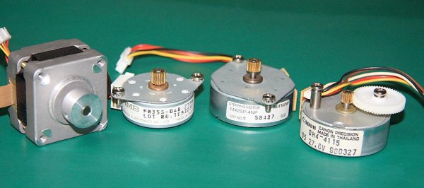 Stepper Motor Interface PIC16F