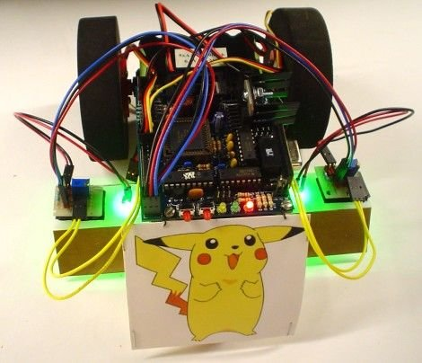 The Glowing Green Robot schematich