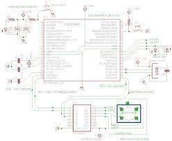 USB Interface Board Driver Installation PIC18F4550 schematic