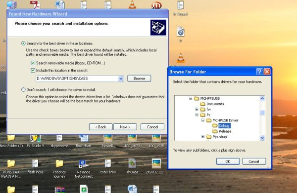 USB Interface Board Driver Installation PIC18F4550
