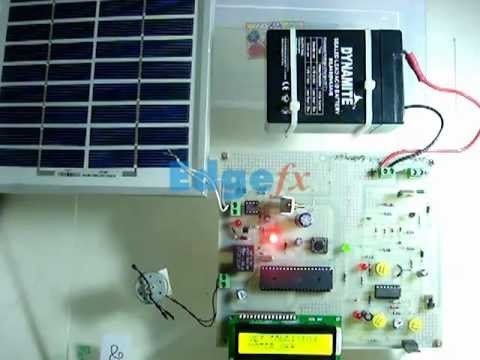 Solar power auto irrigation system using microcontroller