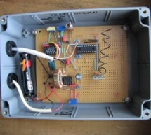 Wireless PICAXE-based water tank level sensor