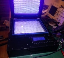 DIY Double Sided 60W LED UV Radiation Unit With Vacuum Pump