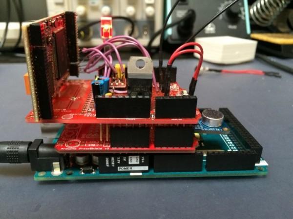 MOVI, a standalone speech recognizer shield for Arduino