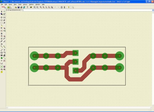 3Drag as a CNC milling machine Creating G-Code via EAGLE software