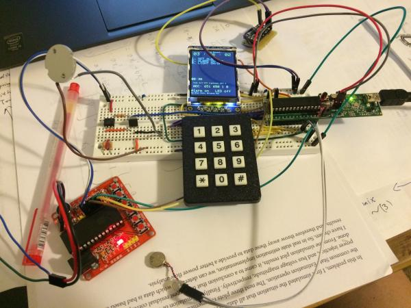 A PIC-based Alarm clock system