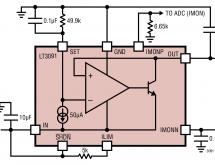 LT3091 – –36V, 1.5A Negative Linear Regulator with Programmable Current Limit