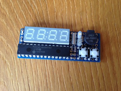 PIC24 Bedside Table Alarm Clock