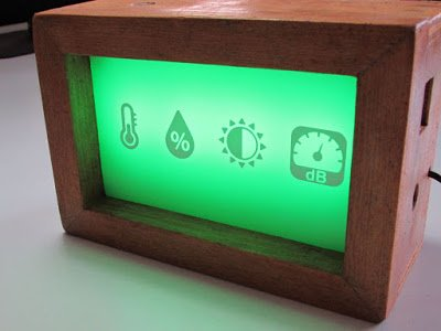 SXAM A Sparkio Indoor Ambient Quality Monitor
