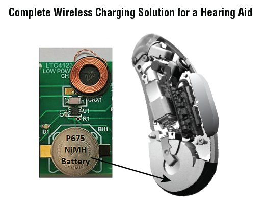 LTC4123 - Low Power Wireless Charger for Hearing Aids