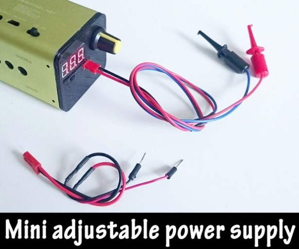 Portable Adjustable Mini Powersupply