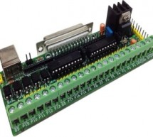 Parallel Port Breakout board with Buffer for CNC & Routers