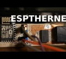 ESP8266 10-Base-T Ethernet Driver
