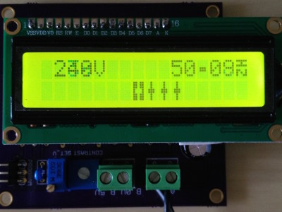 Electricity Grid Frequency Meter