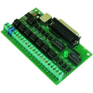 LPT Breakout Board for CNC & Routers
