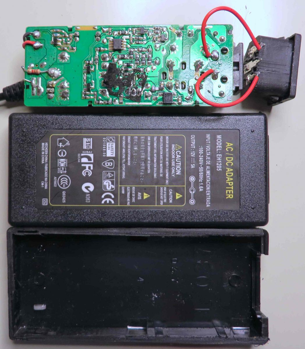 Teardown12V AC adapters – The Horror