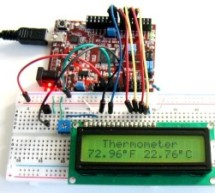 chipKIT Project 1: Digital thermometer using an LM34 sensor