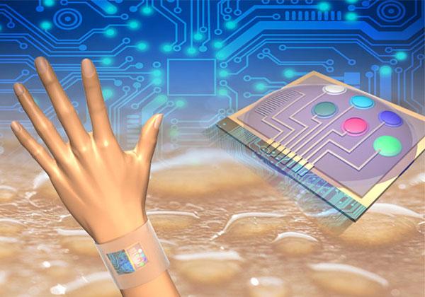Wearable sensors analyze your sweat