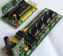 4 Channel RF Remote Controller