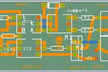 Arduino controlled light dimmer The PCB