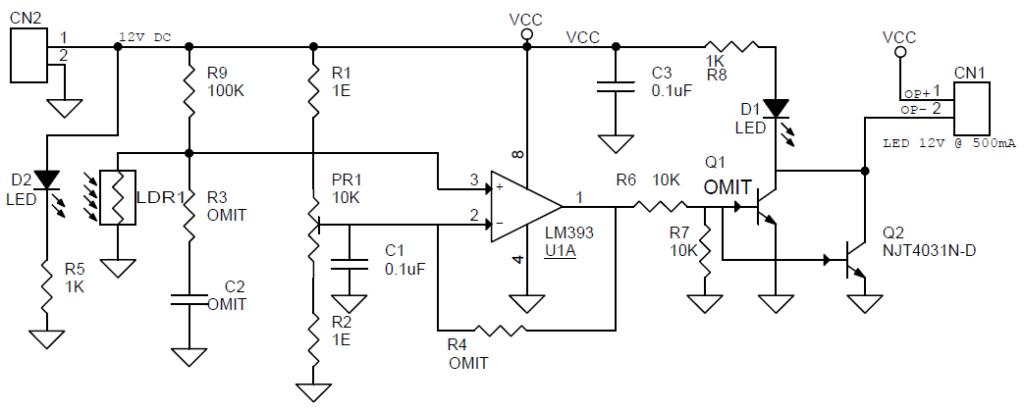 dark sensitive switch  u2013 led light