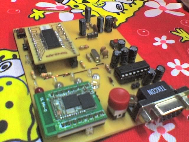 MCU controlled Bluetooth automation with infrared sensor