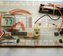 Driving LCD directly from PIC