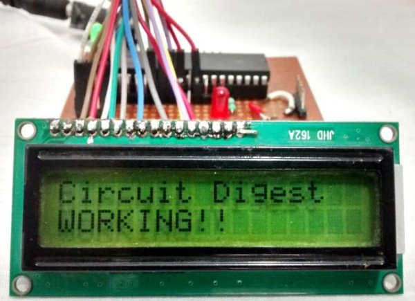 LCD Interfacing with PIC Microcontroller using MPLABX and XC8