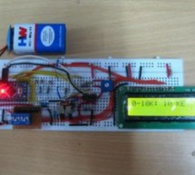 Digital Ohmmeter circuit using pic microcontroller