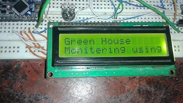 Green house intelligent control system