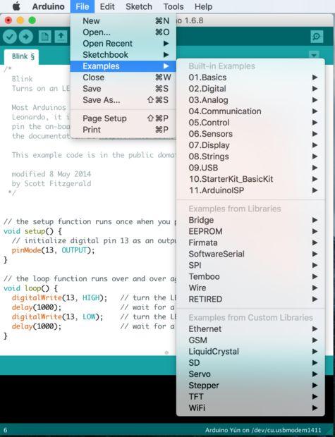 Arduino Program on the Dp32 Board