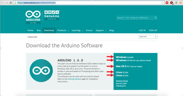Download and Install the Arduino IDE