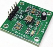 +/- 1.7g Dual-Axis IMEMS Accelerometer Using ADXL203
