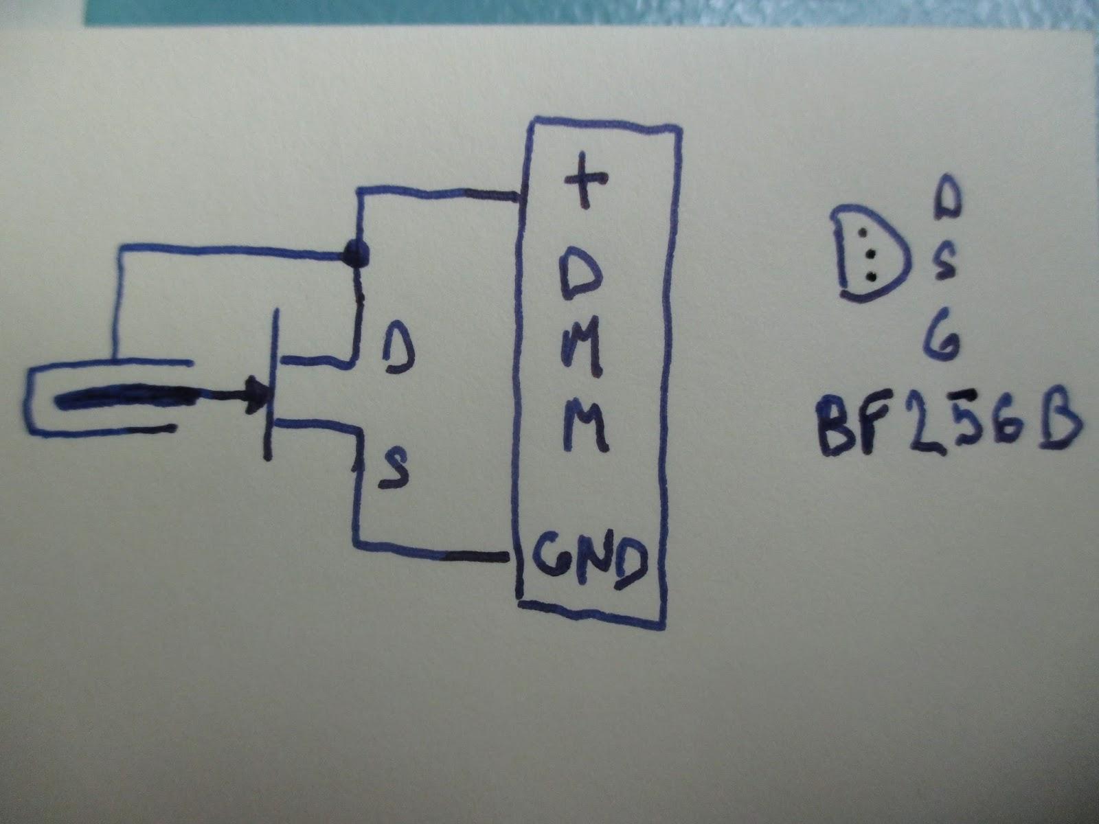 Diagram Radioactivity detection using very simple ionization chamber