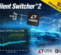 2-3A, 42-Vin Silent Switcher offers low-EMI regulation